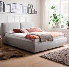 Bed met opbergruimte Celine 180x200 - lichtgrijs (incl. Lucca matras H2+H3)