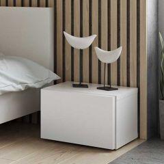 Table de chevet Float - blanc