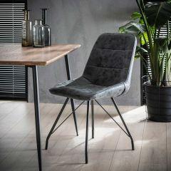 Set van 4 stoelen Nolan - zwart