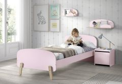 Kiddy bed 90x200 - roze