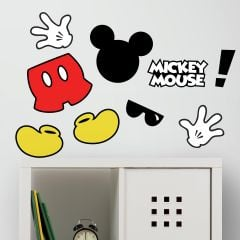 Muurstickers Mickey Mouse Icons