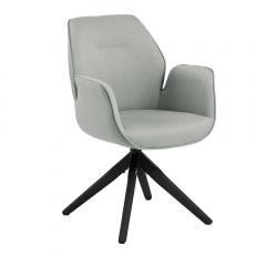 Chaise de salle à manger Aubin - gris clair
