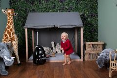 Toile pour cadre de lit Maison 70x140 - anthracite