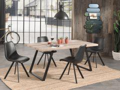 Eettafel Ellen 180x90 - oude eik