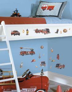 RoomMates muurstickers - Brandweer
