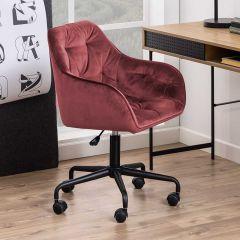 Chaise de bureau Bridget - corail