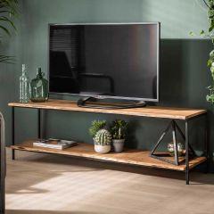 Tv-meubel Ernest 150cm industrieel - acacia