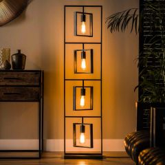 Lampadaire Turner 4 lampes - anthracite