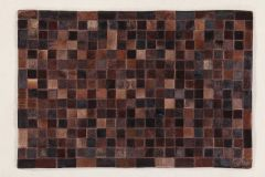 In Leather Patchwork Choco 230X160