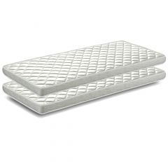 Lot de 2 matelas Cool 90x200cm