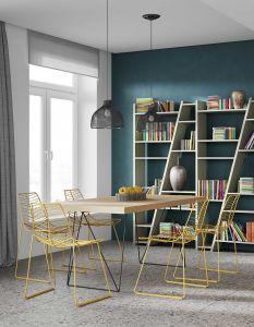 Tafel Multis 180cm - eik/zwart