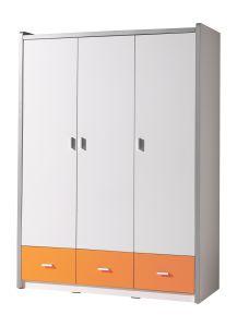 Armoire Bonny 3 portes - orange