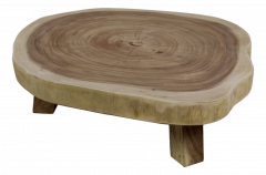 Table basse - ronde - ø50 cm - munggur