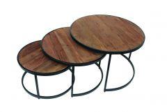 Set van 3 salontafels Amana