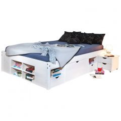 Bed Xavier 140x200cm - white wash
