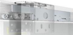 Amortissement de l'ouverture/collision pour armoires coulissantes à 2 portes