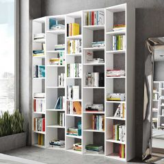 Boekenkast Varna model 4 - wit