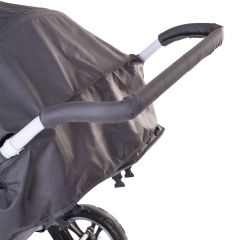 Bescherming handvat kinderwagen - zwart