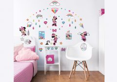 Stickers muraux Disney Minnie Mouse