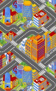 Tapijt Big city - klein