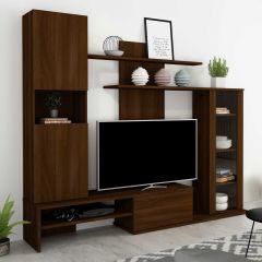 Tv-meubel Boyd 200cm - walnoot