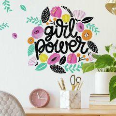 Muursticker Girl Power
