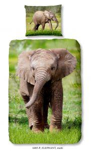 Dekbedovertrek Elephant 140x220