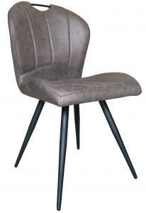 Set van 2 stoelen Don - grijs