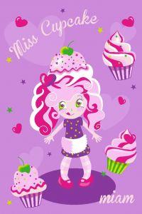 Tapis Girls - Miss Cupcake