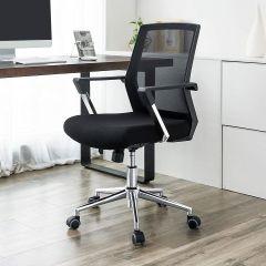 Chaise de bureau Nico - noir