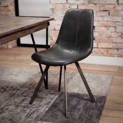 Set de 4 chaises Zigi - noir