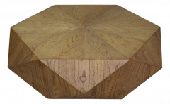 Salontafel Diamond - naturel eiken