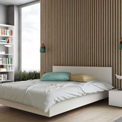 Float Bed 180*200 Cm Without Slats - Pure White (Matte)