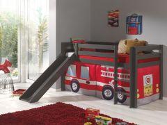 Halfhoogslaper Astrid taupe - brandweer