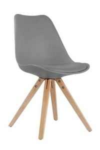 Set van 2 stoelen Lady - grijs