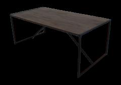 Table de repas - 200x100 cm - finition antique