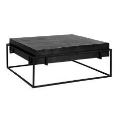 Salontafel Bolder 90x90cm - zwart