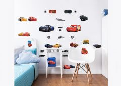 Muurstickers Disney Cars
