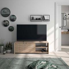 Tv-meubel Georgia - blonde eik