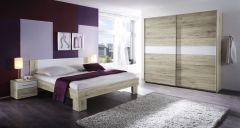 Set de chambre Mavic 160x200 - chêne/blanc