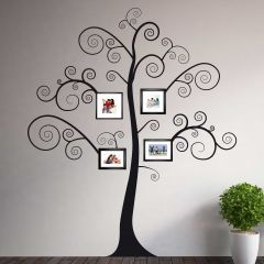 Muursticker Black Tree XXL