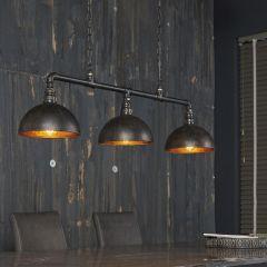 Hanglamp Straight 3 kappen