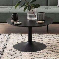 Table basse Ibbo Ø70 - noir