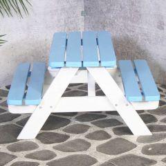Kinder picknicktafel Mickey – blauw