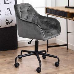 Chaise de bureau Bridget - gris