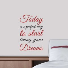 Muursticker Today Dreams