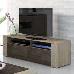 Tv-meubel Ares 154cm - bruin