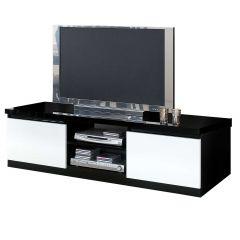 Tv-meubel Roma 150cm - zwart/wit