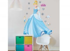 Sticker mural XL Cendrillon