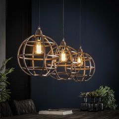 Hanglamp Globus 3xØ33